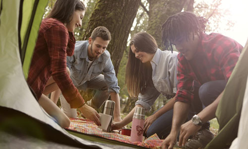 Camping - The Best Four Recreational Activities for Students